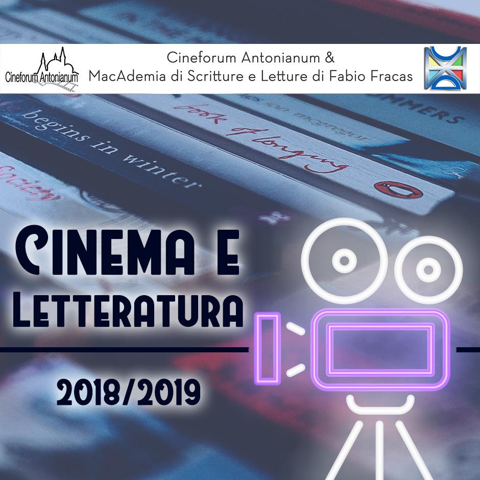 Cinema e Lettaratura 2018/2019